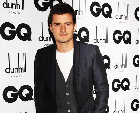 Orlando Bloom at the GQ awards