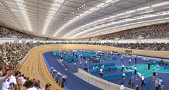 inside the 2012 velodrome