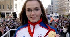 Olympic Gold medalist Victoria Pendleton