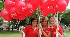 Heart Angels with Balloons