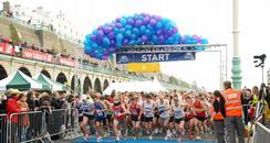 Sussex Beacon Half Marathon race start