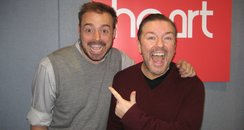 Ricky Gervais on Heart Breakfast