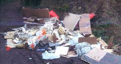 Fly-tipping in Wiltshire