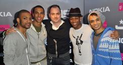 Neil Bentley meets JLS