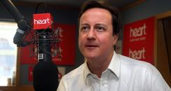 David Cameron on Heart Breakfast