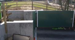 Deerhurst flood gate