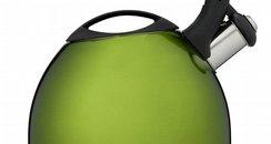 HomeSense green whistle kettle