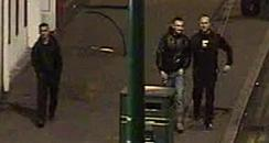 CCTV image of 3 men police want to speak to