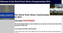 Pooh Sticks website