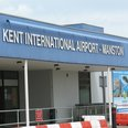 Passenger terminal at Kent International Airport