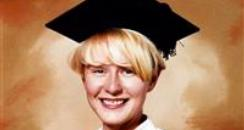 Graduation pic of murder victim Melanie Hall