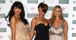 Sugababes pose for photographers