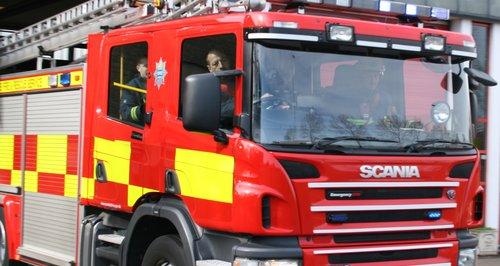 Cambridgeshire Fire Engine