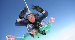 Kent Air Ambulance charity skydive