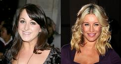 Natalie Cassidy and Denise Van Outen