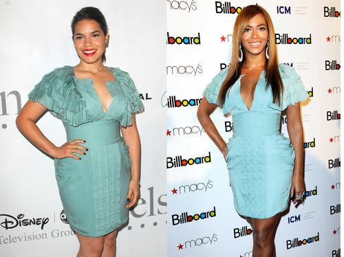 America Ferrera vs Beyonce