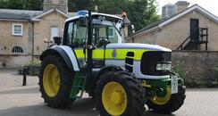 Lincolnshire Police Tractor