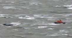 Dover Coastguard rescue dutch barge
