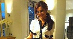 Cheryl bakes for PR team