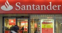 Santander bank branch