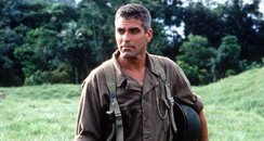 George Clooney in the film The Thin Red Line