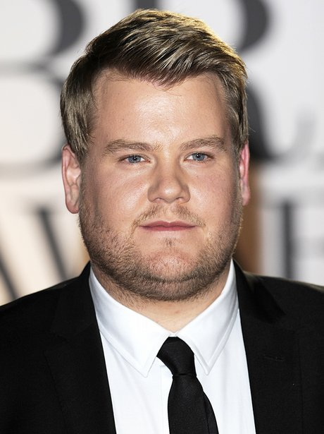 James Corden arriving for the 2011 Brit Awards