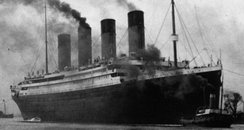 The Titanic left Southampton in 1912