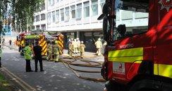 Watford General Hospital Fire