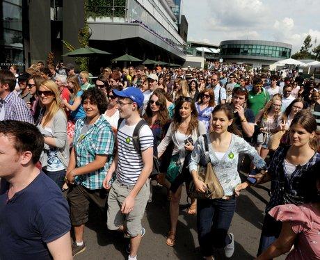 tennis crowds