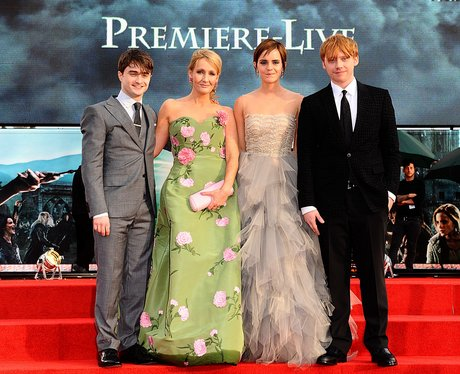 Harry Potter premiere - Heart Daniel Radcliffe Movies