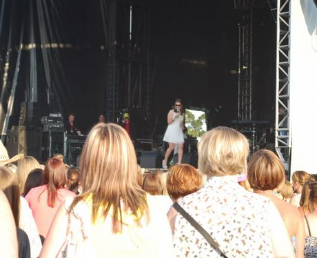 Peter Andre @ Racecourse