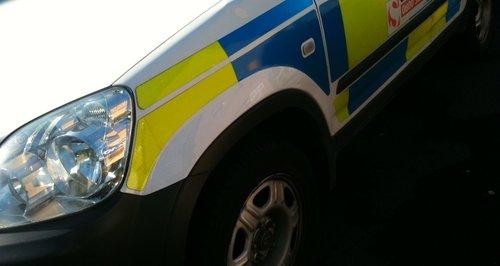 NOTTS POLICE CAR