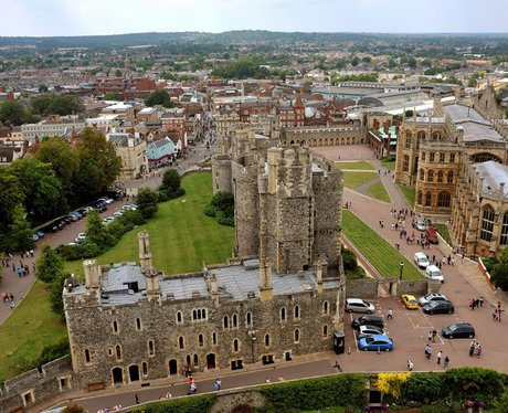 A-of Windsor Castle Windsor Castle's Round Tower - Heart Thames Valley News