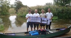 Canoe Help for Heroes