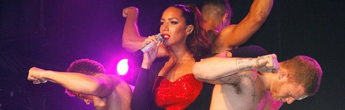 leona lewis performing at g-a-y