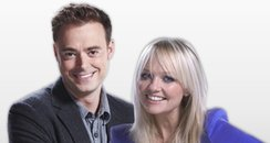 Jamie Theakston and Emma Bunton