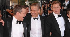 matt damon, george clooney and brad pitt