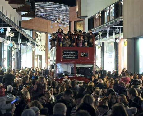 Christmas Light Switch On In Princesshay Exeter 2