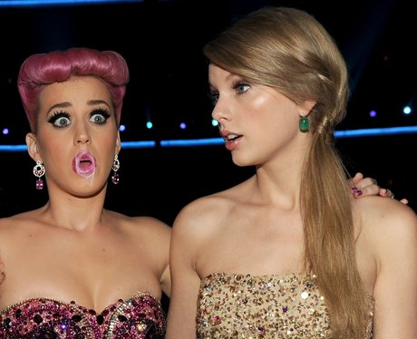 Katy Perry and Nicki Minaj American Music Awards