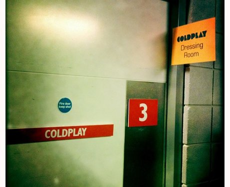Coldplay BRIT Awards 2012 on twitter