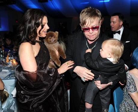 Elton John AIDS Foundation Academy Awards Viewing