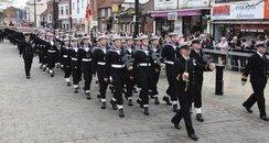 HMS Collingwood Freedom March