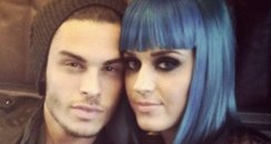 Katy Perry with Baptiste Giabiconi