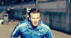 David Beckham behind the scenes Adidas advert