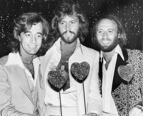 Robin Gibb through the years