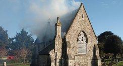 Weymouth Chapel Fire, Dorset Fire Service