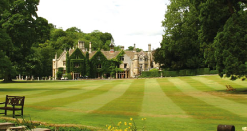 Manor House Hotel lawn
