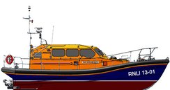 The Shannon class all-weather lifeboat