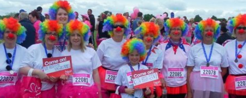 Race For Life Bristol -Clowns