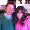 Jamie Oliver and Lucy from Heart Breakfast